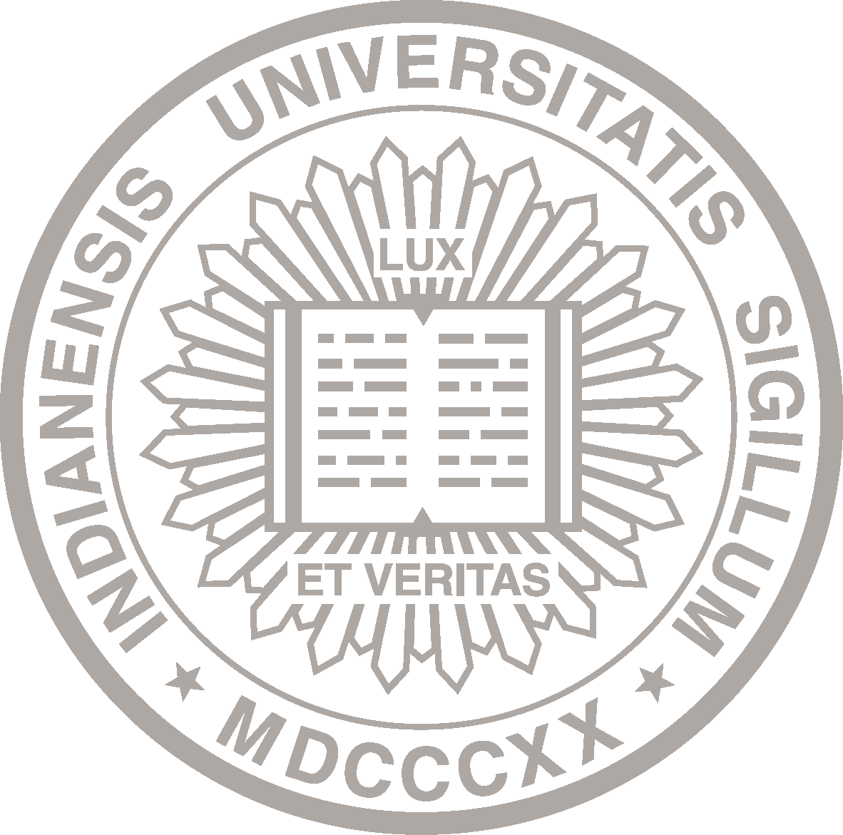 The IU Seal: Indianensis Universitatis Sigillum MDCCCXX